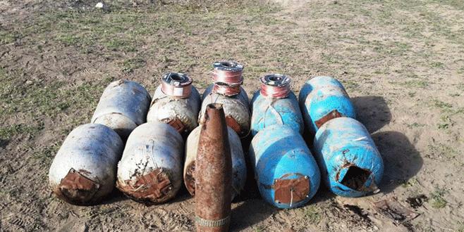 Tam 500 kilo bomba ele geçirildi