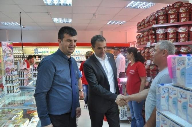 """Başkan Gençer """"Yerel Marketlerden Alışveriş Yapmayı Bırakmayalım"""""""