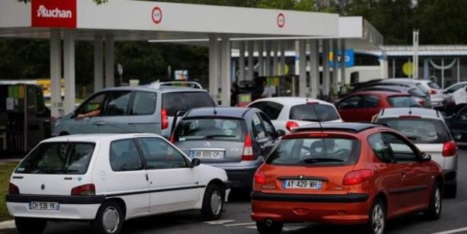 Fransa'da benzin sıkıntısı