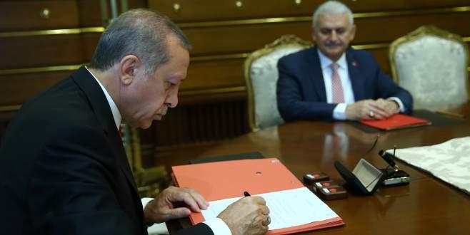 İşte Cumhurbaşkanı Erdoğan'ın yeni hükümeti onayladığı an