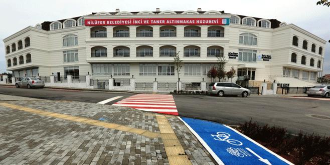 Nilüfer Belediyesi Huzurevi hizmete giriyor