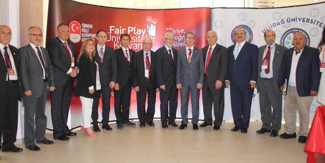 Uludağ Üniversitesi'nde Fair-Play ruhu işlendi!