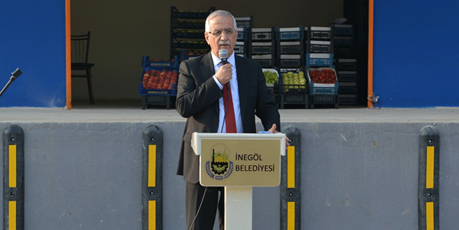 Dipsizgöl'e ürün toplama merkezi