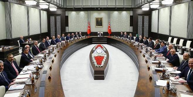 Yeni Bakanlar Kurulu toplandı