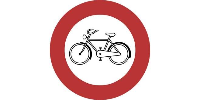 Çarşıya bisikletle girmek yasak