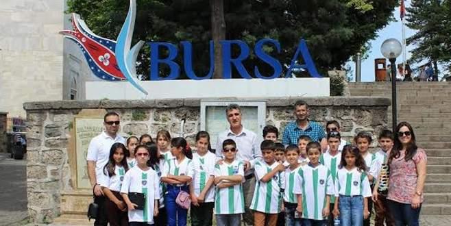 Mardinli öğrenciler Bursa'yı çok sevdi
