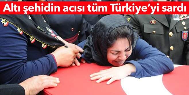 Türkiye, şehitlerini gözyaşlarıyla uğurladı