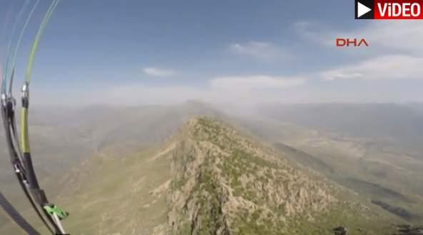 Yamaç paraşütçülerine PKK kurşunu