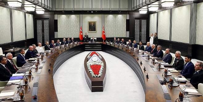 65. Hükümet'in ilk MGK'sı toplandı