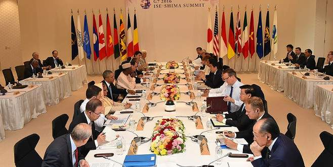 G7'ye 'mülteci' sorunu damga vurdu