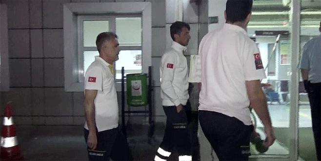 Bursa'da hastanın saldırdığı 112 personeli yaralandı