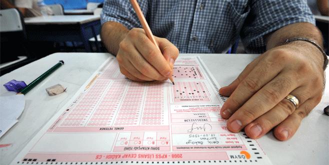 KPSS'nin 'Alan Bilgisi' sınavları yarın yapılacak