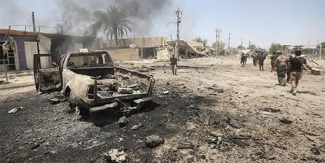 Felluce'de IŞİD'e darbe
