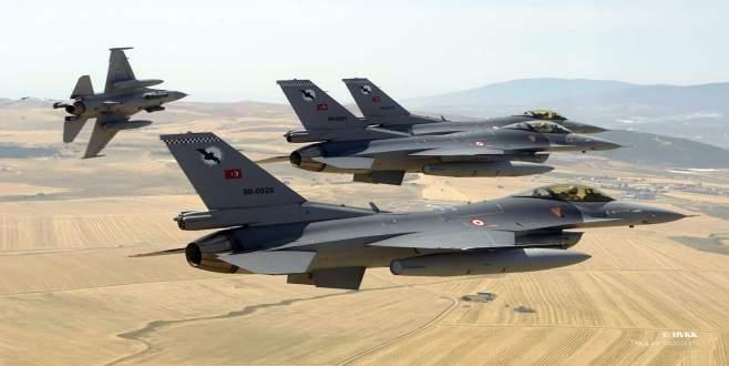 TSK'dan Kuzey Irak'a hava haraketı!