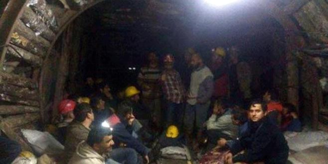 Zonguldak'ta maden işçilerinin eylemi sona erdi