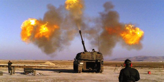 'Fırtına'lar ve ÇNRA'lar IŞİD'i vurdu