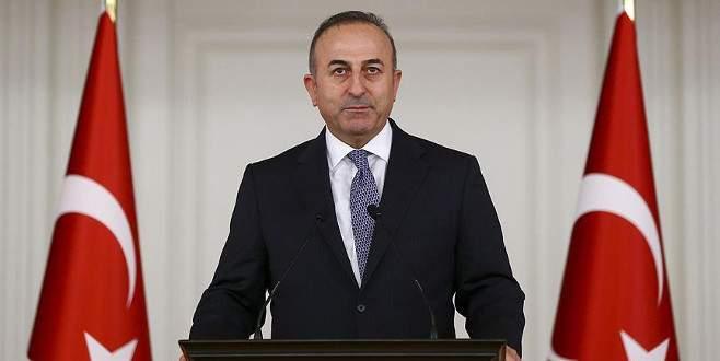 Çavuşoğlu'ndan ABD'ye PYD eleştirisi