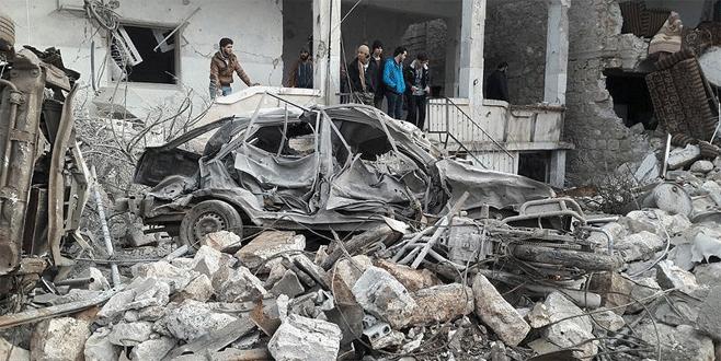 Rus uçakları sivilleri hedef aldı: 23 ölü, 35 yaralı