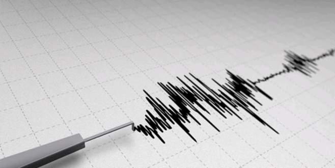 6,1 büyüklüğünde deprem