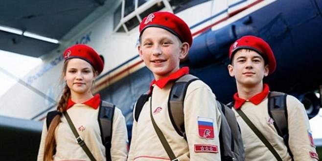 Rusya'nın 'Genç Ordu'su eğitime başladı