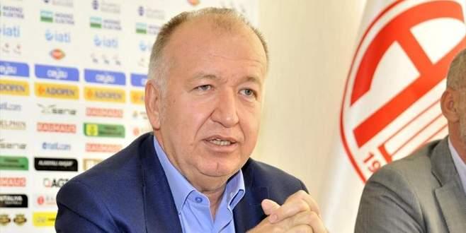 Antalyaspor Başkanı görevi bırakıyor!