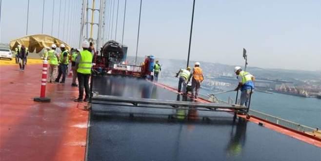 Osman Gazi Köprüsü'nde bir ilk
