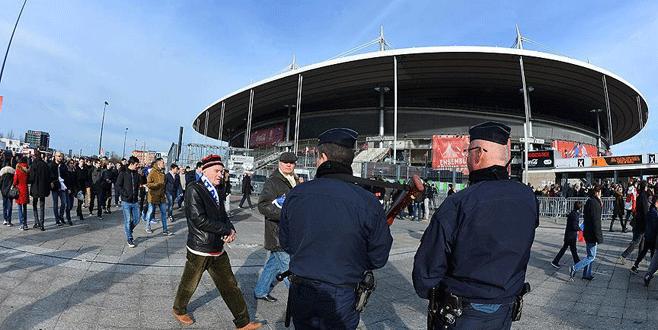 Paris'te terör simülasyonu