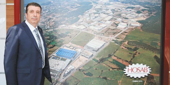 Bursa'nın en hızlı büyüyen OSB'si HOSAB çevre yatırımlarında gaza bastı