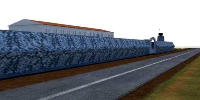 Karakollar için 'bomba geçirmez' duvar
