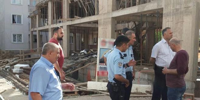 Bursa'da iş kazası! 1 yaralı