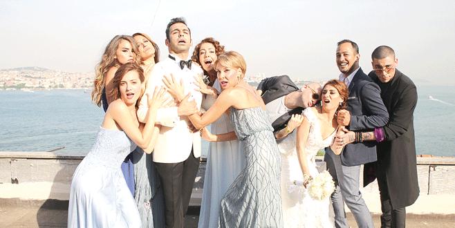Bol kahkahalı düğün
