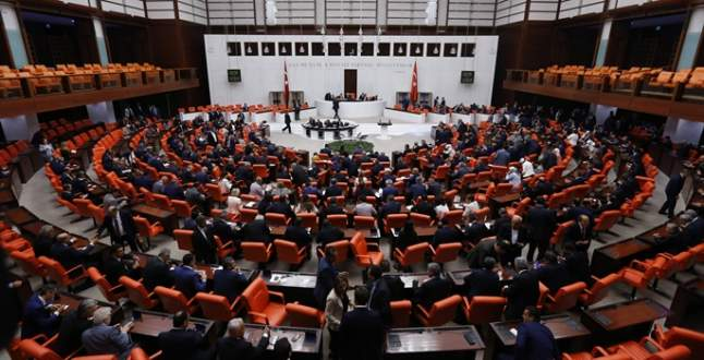 Meclis'ten Almanya'ya tepki