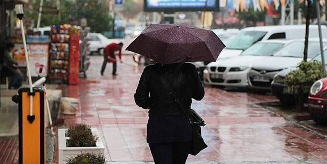 3 il için 'kuvvetli' yağış uyarısı
