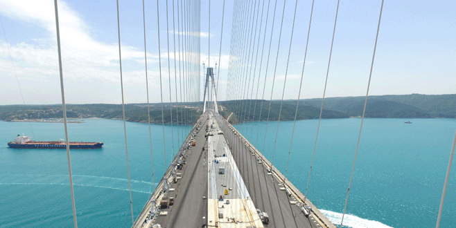 3. köprünün asfalt çalışmaları bitti
