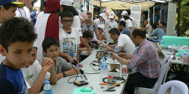 Bilim Şenliğin'de projeler yarıştı
