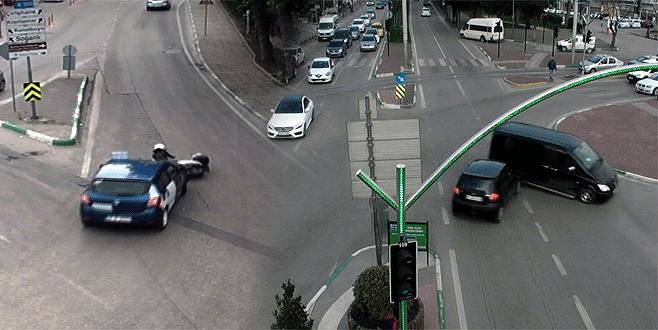 Bursa'da aşırı hızın sonu kötü oldu