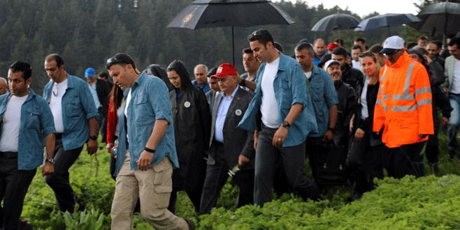 Başbakan Yıldırım'dan köyünün yaylasında yürüyüş
