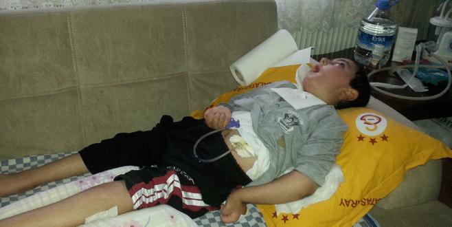 Küçük Esat hasta yatağına kavuştu