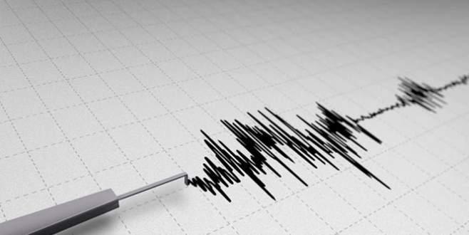Bursa'da 4.4 şiddetinde deprem!