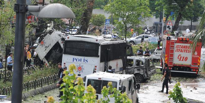 İstanbul'da patlama: 6 polis şehit, 5 vatandaş hayatını kaybetti