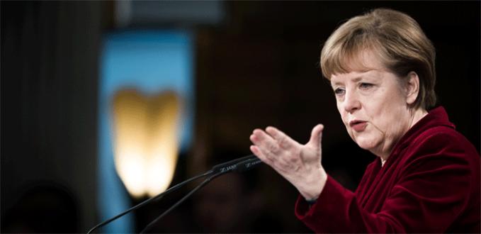 Merkel çok sert