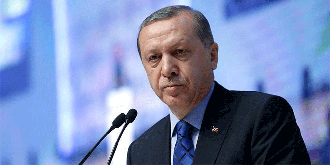Erdoğan: 'Türkiye'yi terörle yönlendireceğini sananlar…'