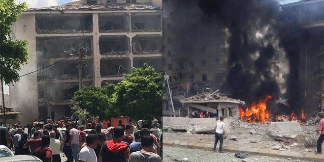 'Emniyet Müdürlüğü'ne bombalı araçla saldırı