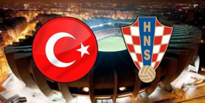 İşte Türkiye Hırvatistan EURO 2016 maçının yayınlanacağı saat ve kanal!