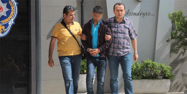 Bursa'da 17 bin TL'lik vurguna tutuklama