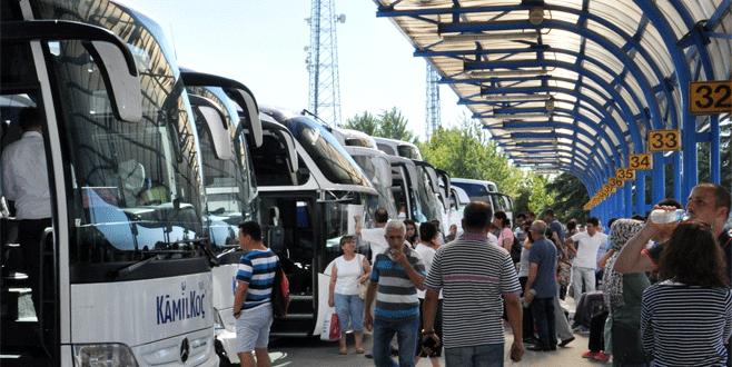 Bayramda otobüs firmalarına kolaylık