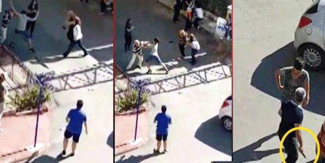 Maddi hasarlı kazada kadın öğretmene saldırı