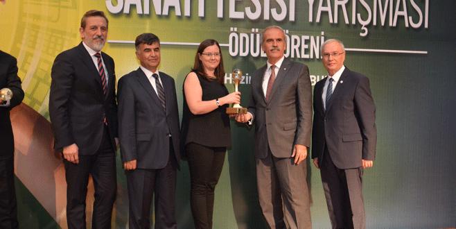 Akbaşlar Tekstil'e Çevre Ödülü