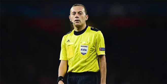 Cüneyt Çakır EURO 2016'da ilk maçına çıkıyor