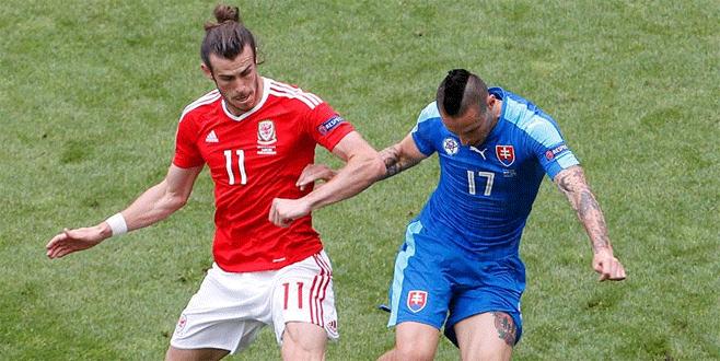 Galler EURO 2016'ya galibiyetle başladı